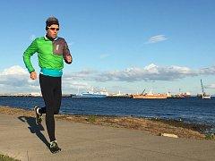 Petr Vabroušek před závodem 7 maratonů v 7 dnech na 7 kontinentech.