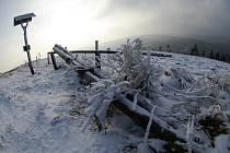 Na meteorologické stanici Maruška v Hostýnských vrších v blízkosti lyžařského areálu Troják bylo 21. února 2011 –10°C