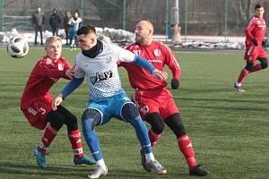 Třetiligové Viktoria Otrokovice zdolala v dalším přípravném zápase juniorku Třince 1:0. Foto: