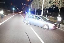 Honičku s bezohledným řidičem absolvovali ve středu večer u Otrokovic zlínští policisté, třiačtyřicetiletý muž z Karviné po ní skončil v policejní cele.