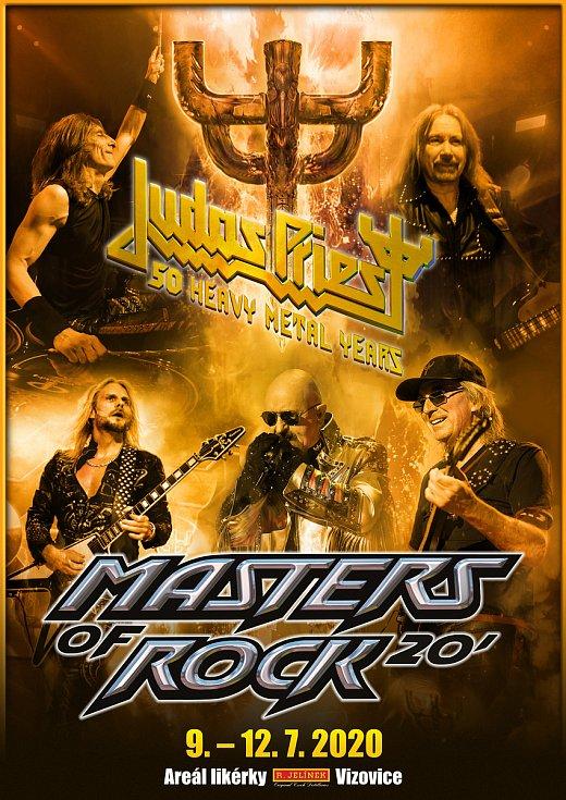 Kapela Judas Priest oslaví ve Vizovicích 50 let na poli světového metalu.