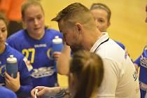 Trenér Martin Spuchlák.