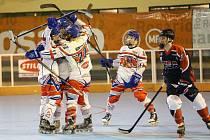 Lukáš Valášek na juniorském MS v in-line hokeji v Argentině.