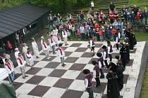 Živá šachová partie, Brumov Bylnice