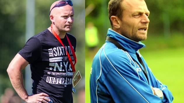 Zleva: Vlastimil Chytrý, Marek Sedlák.