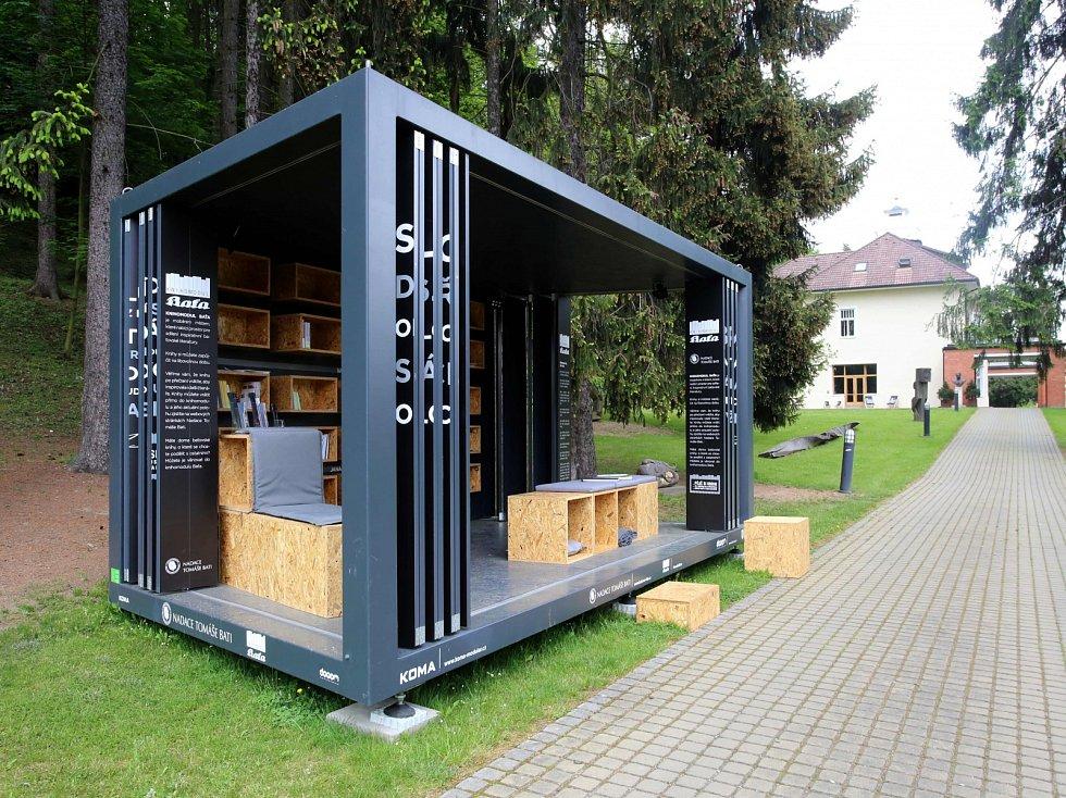 Baťova vila ve Zlíně. Knihomodul Baťa
