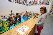 Výstava Svět kostiček v muzeu jihovýchodní Moravy ve Zlíně.