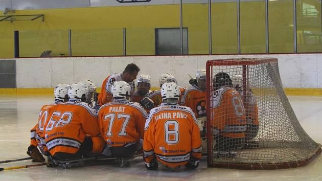 Ilustrační foto. Lapp Cup Zlín 2013 ve Sledge hokeji.
