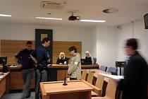 Obžalovaný Radek Korbař u soudu