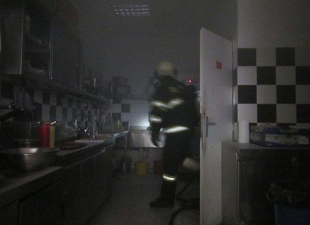 Požár v Malenovicích.