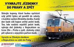 Soutěž se Zlínským deníkem a RegioJetem