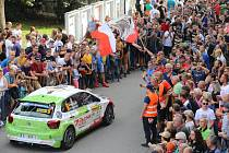 Start 49. ročník Barum Czech Rally