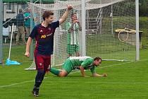Fotbalisté Štípy v 6. kole okresního přeboru Zlínska přestříleli Mysločovice 7:3