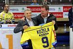 Ceremoniál Bohumil Kožela - síň slávy zl. hokeje
