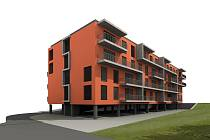 Bytový dům v ulici U Slanice bude umístěn na parcelách číslo 1503 a 297/1 v katastrálním území Prštné.