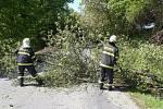 Následky silných bouřek ve Zlínském kraji - 28. 7. 2019