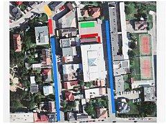 CO KDE BUDE? Žlutá plocha pivní stan a pódium Lešetín I. Červená a modrá stánky. Zelená pivní stan a pódium Lešetín II.