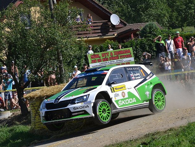 Barum Rally 2015. RZ 11 Troják