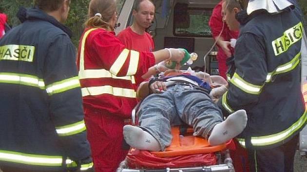 Tragická havárie osobního auta u Horní Bečvy