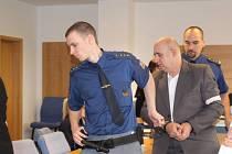 Jiří Vacula u soudu 6. 3. 2014. Ilustrační foto.