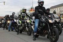 Motorkáři.