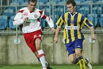 Fotbal Zlín (v červenobílém) - Opava