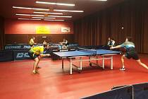 1. liga ve stolním tenise KST Zlín - MS Brno