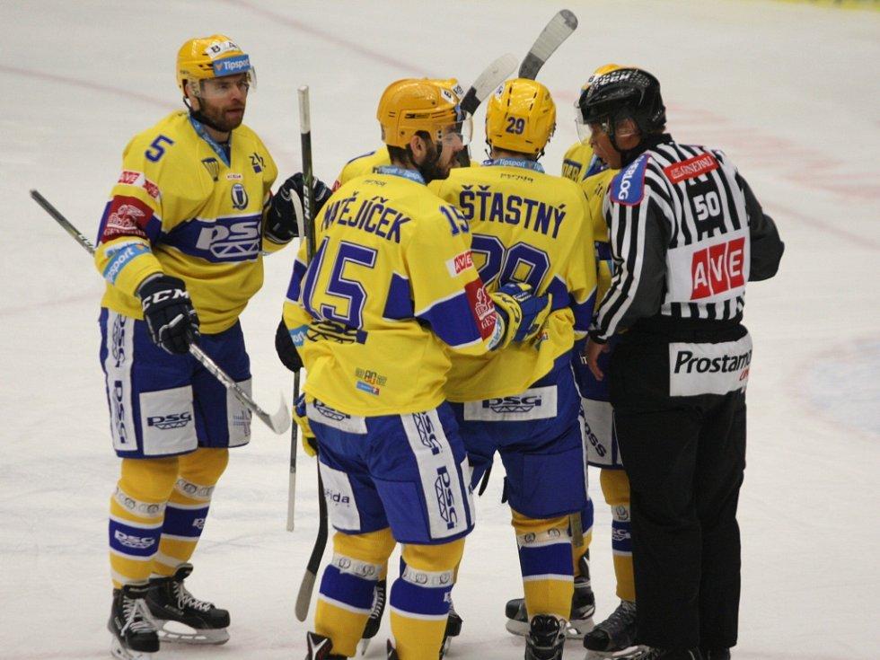 Extraligoví hokejisté Zlína. Ilustrační foto