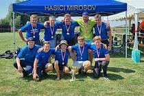 Hasiči z Mirošova postoupili na Mistrovství ČR v požárním útoku.