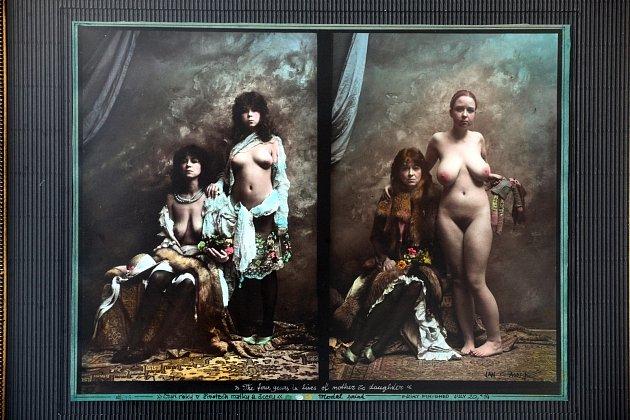 Jan Saudek vystavuje průřez svojí tvorbou - 85fotografií vObchodním domě Zlín