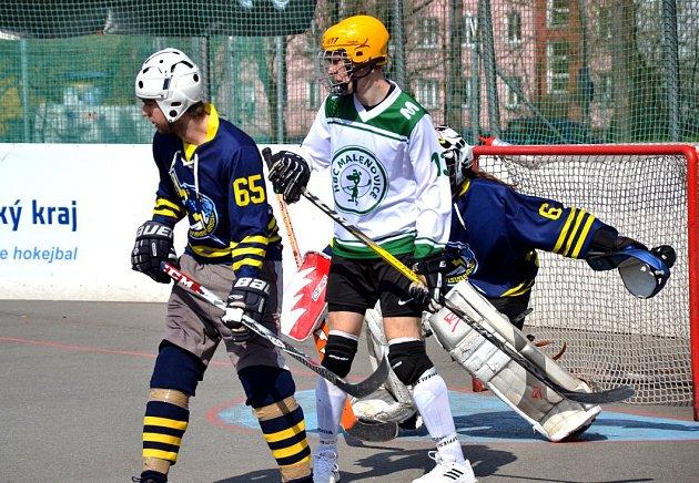 Moravská hokejbalová liga Malenovice-Tišnov