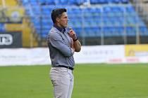 Hlavní trenér Fastavu Zlín Jan Jelínek.