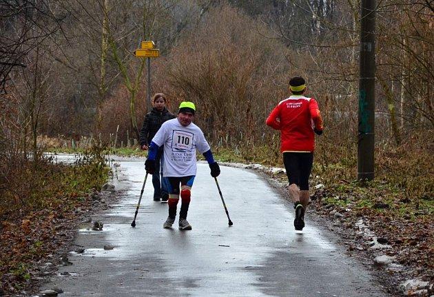 Třebovický maraton a půlmaraton. Hrdina dne - polský závodník na 1/2 maratonu