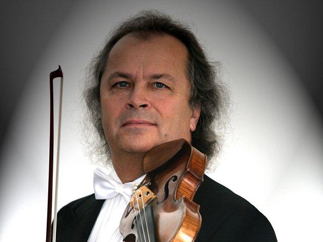 Václav Hudeček se na koncert velmi těší.