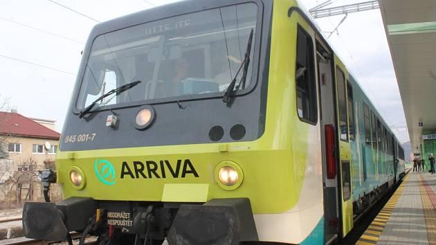 vlak Arriva. Ilustrační foto