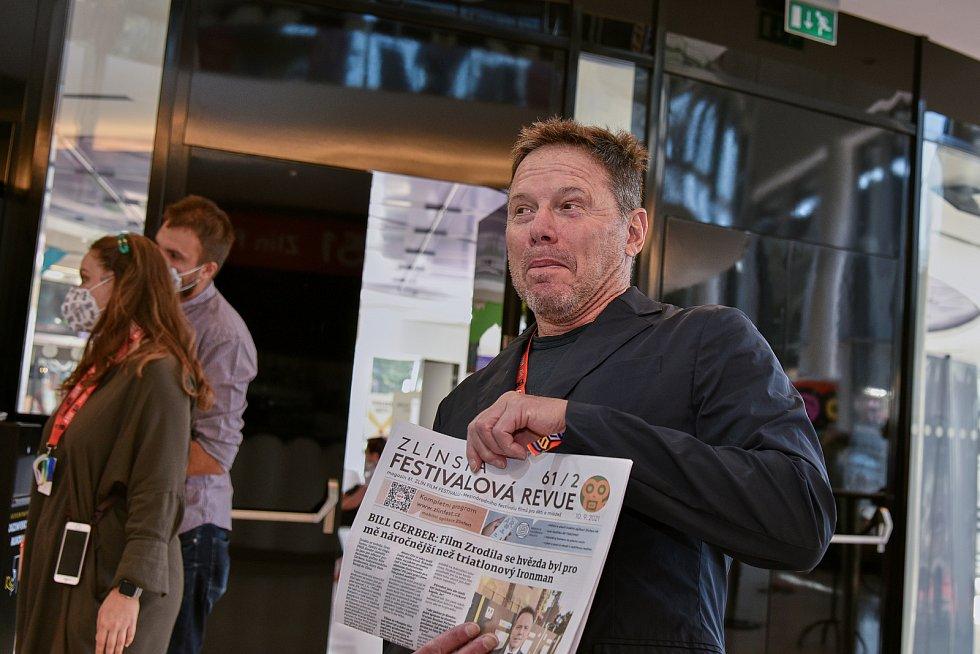 Americký filmový producent Bill Gerber na Zlín Film Festu.Foto zdroj: Zlín Film Fest.