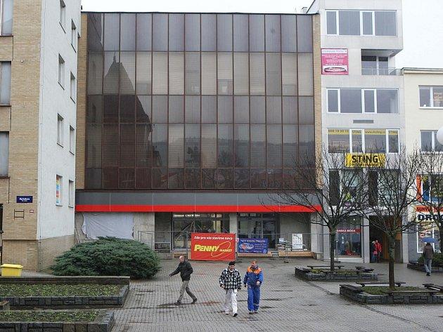 Bývalá budova pošty náměstí Míru