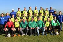 Fotbalisté Lhoty u Malenovic, ilustrační foto k pozvánce na Gambrinus Cup 2021
