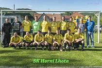 fotbalisté SK Horní Lhota