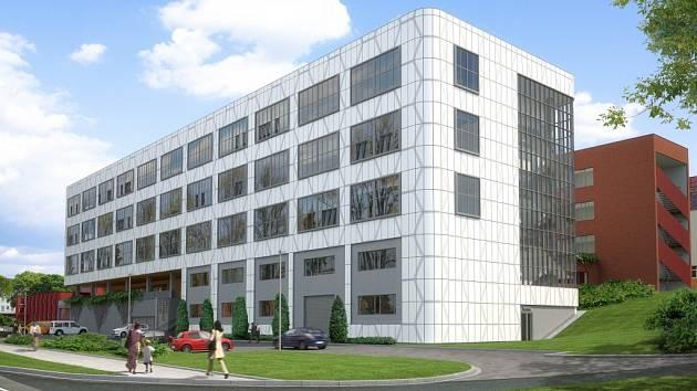 Vizualizace nových budov Univerzity Tomáše Bati ve Zlíně.