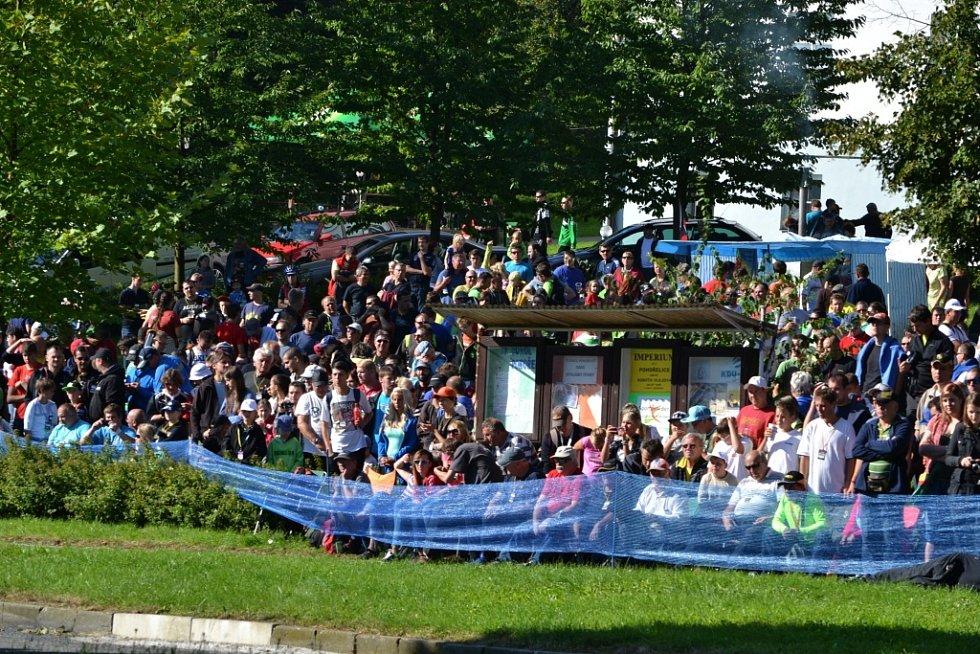 Páteční kvalifikační zkouška a shakedown před zahájením 44. ročníku Barum Czech Rally Zlín
