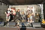 V sobotu 14. září 2019 se na parkovišti u Hotelu Baltaci Atrium ve Zlíně konal V. Lešetín Fest. Na snímku je kapela Fireball.