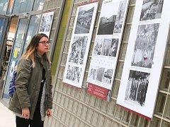Výstava  Baťa- Zlín - Československo  v univerzitním centru ve Zlíně.
