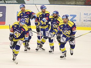 Hokejisté Aukro Berani Zlín vs. Piráti Plzeň