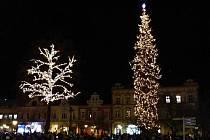 Vánoční strom ve Vsetíně