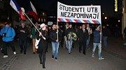 17. listopad uctili v sobotu 17. listopadu 2018 ve Zlíně společně, spojilo se na to hned několik institucí dohromady. Mimo jiné městem prošel také průvod.