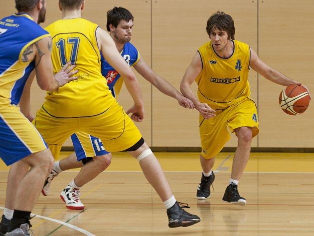 Basketbalisté Proton Zlín. Ilustrační foto