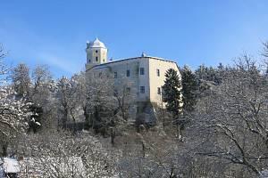 Malenovický hrad dne 31.1.2015