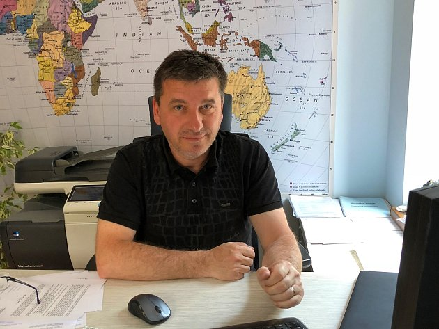 Kandidát na senátora za zlínský okrsek 78 Tomáš Goláň (BEZPP).