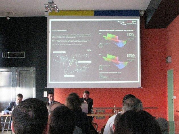 Návrhy na případné obsazení holešovské zóny vytvořili studenti ČVUT.